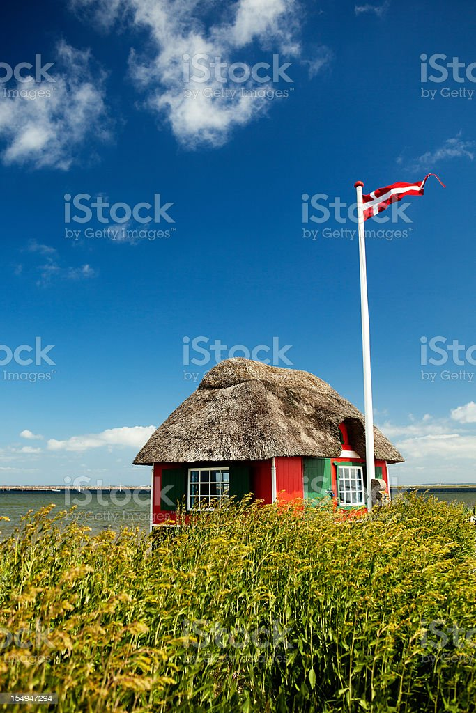 Beautiful Denmark stock photo