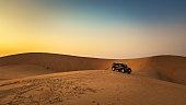 Beautiful Desert landscape view in Al Hofuf Saudi Arabia.