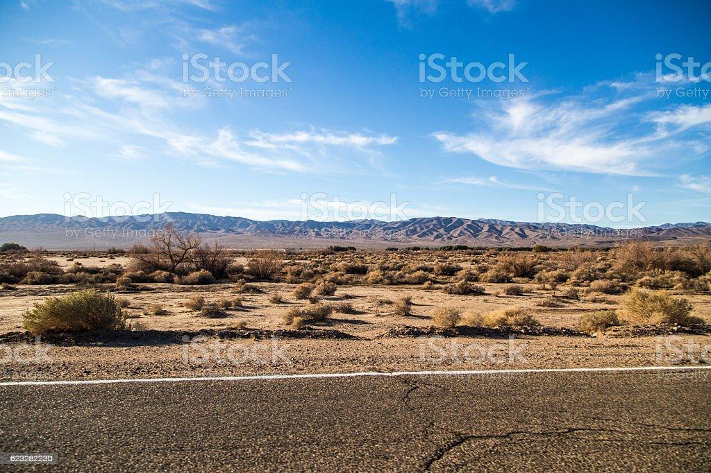 Beautiful desert stock photo