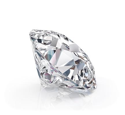 아름 다운 다이아몬드 3차원 형태에 대한 스톡 사진 및 기타 이미지