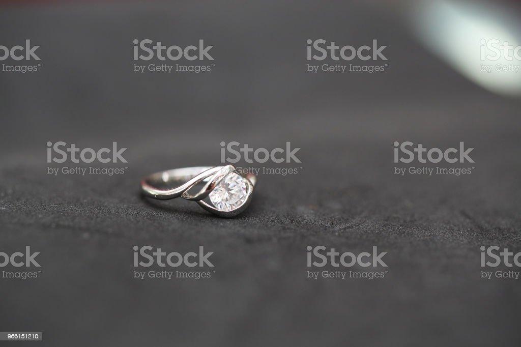 Beautiful diamond ring - Royalty-free Anniversary Stock Photo