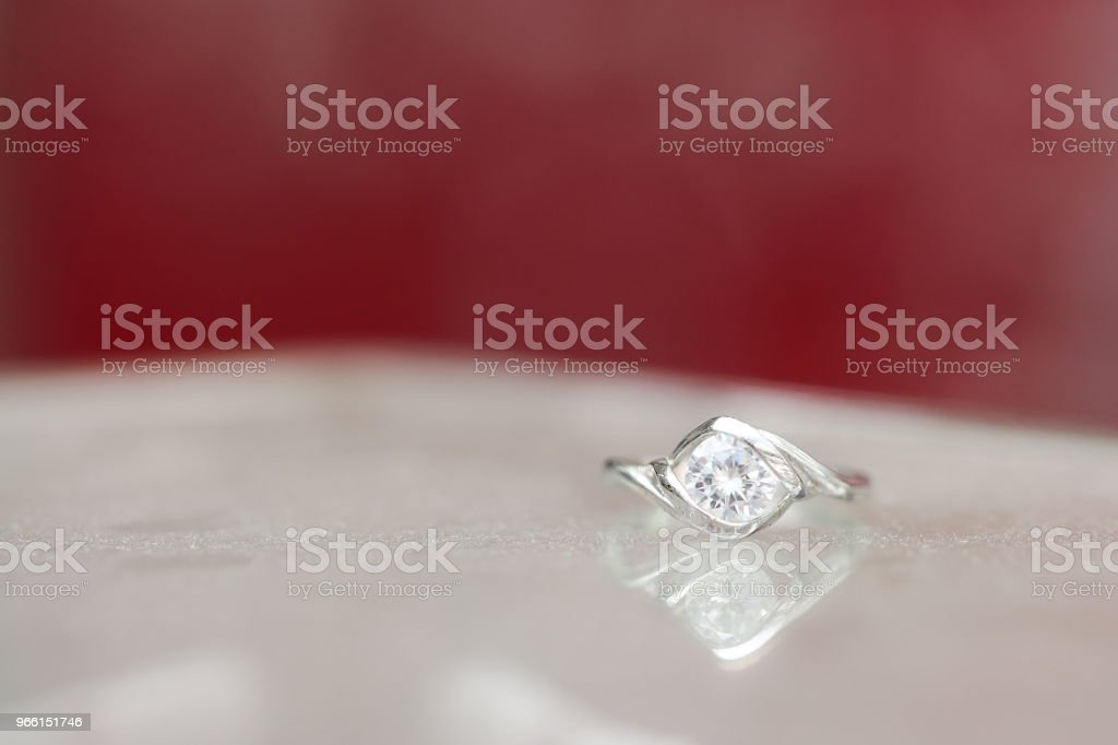 Beautiful diamond ring - Royalty-free Anniversary Stock Photo