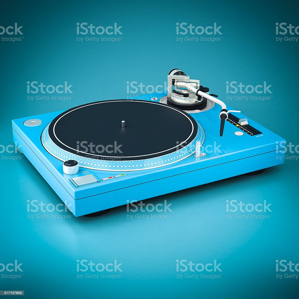 Schöne DJ-Spieler – Foto