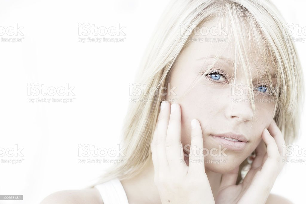 Beautiful Dreamer royalty-free stock photo
