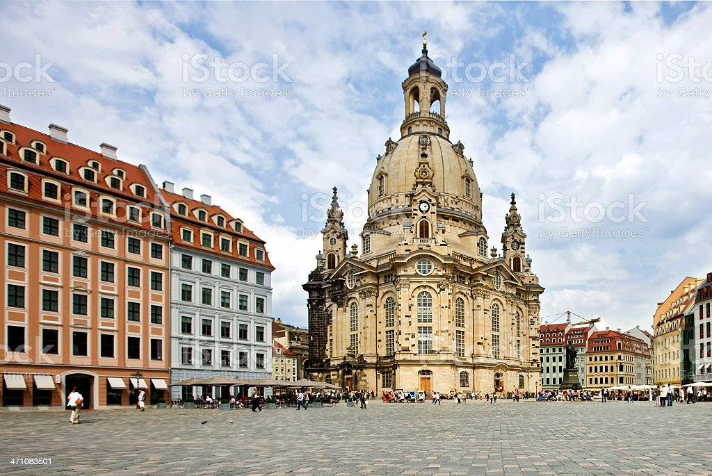 beautiful Dresden stock photo