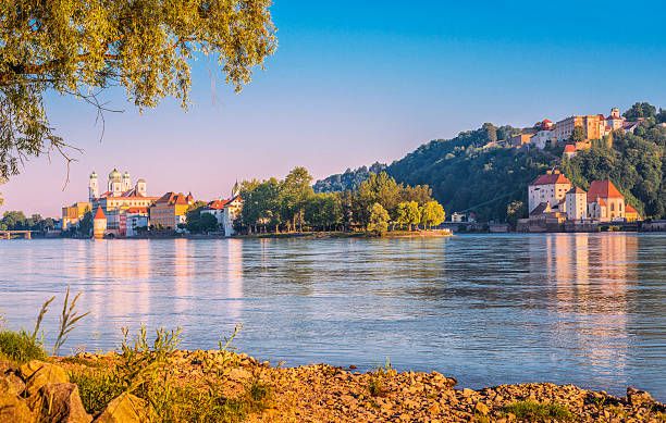Beautiful early summer morning in Passau