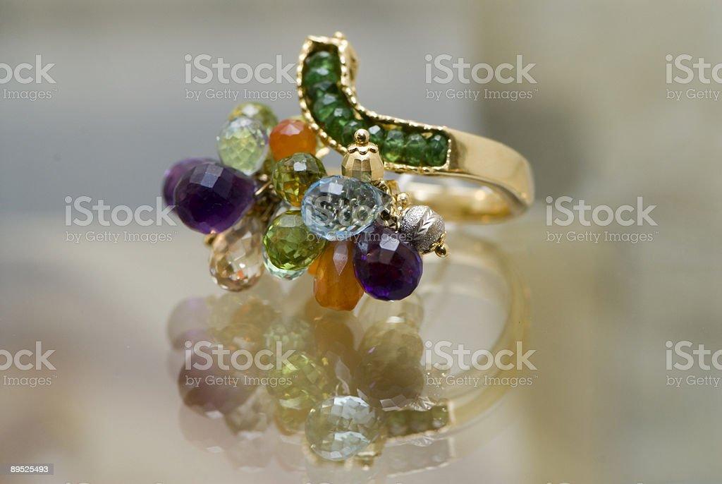 Beautiful ear-rings royalty-free stock photo