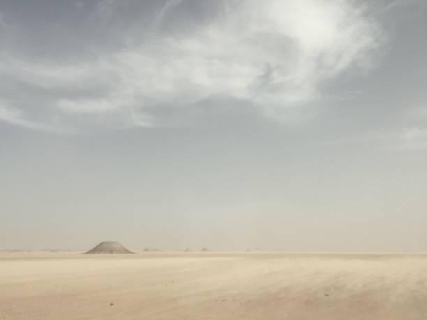 Beautiful Egyptian desert stock photo