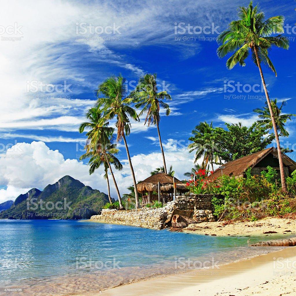 Beautiful El Nido,Philippines Island. stock photo