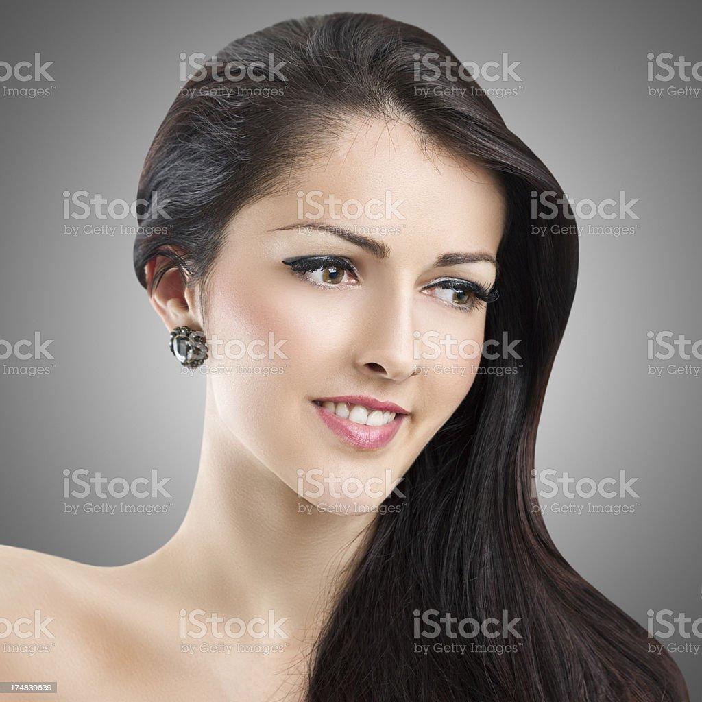 Beautiful Elegant Woman royalty-free stock photo
