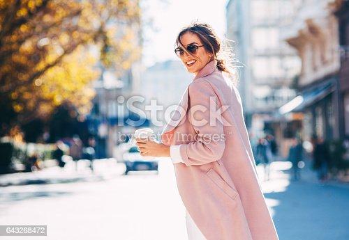 istock Beautiful elegant woman 643268472
