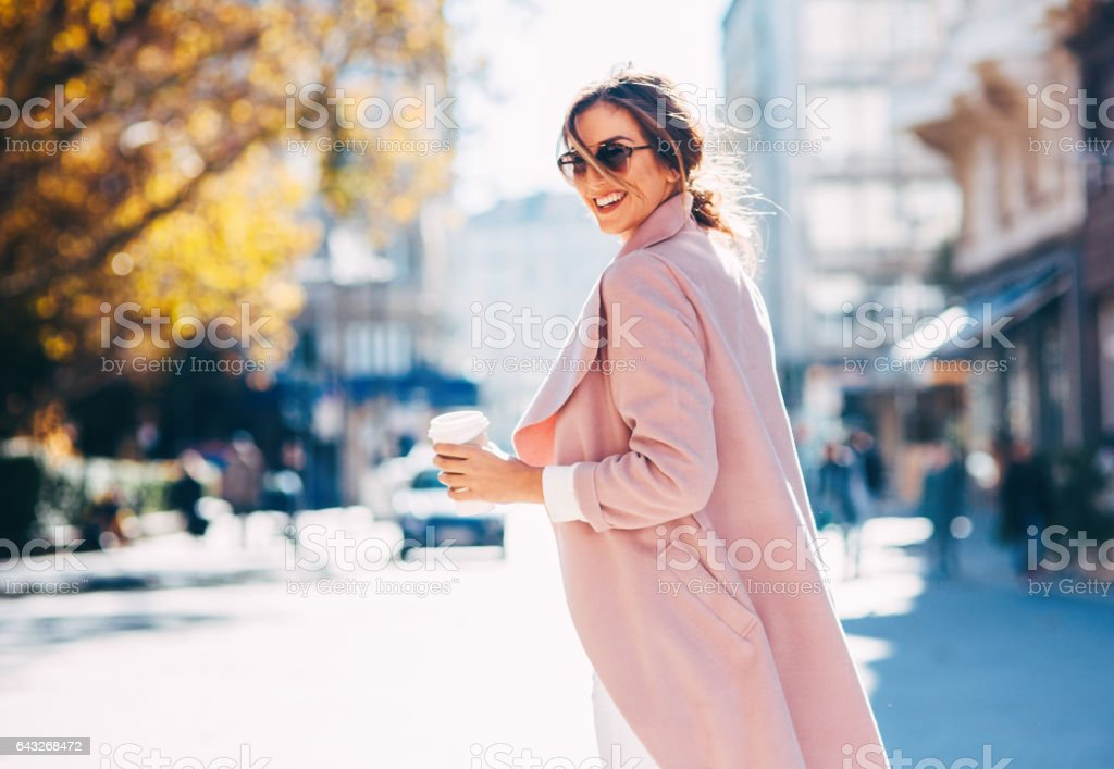 Beautiful elegant woman stock photo