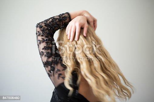 638678178 istock photo Beautiful emotional woman dancing 847506460