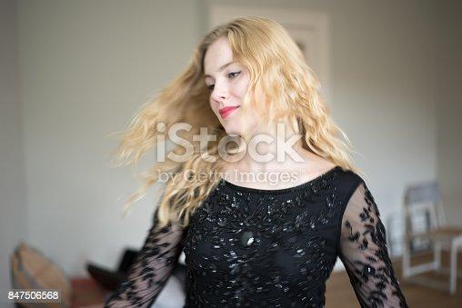 638678178 istock photo Beautiful emotional woman dancing 847506568