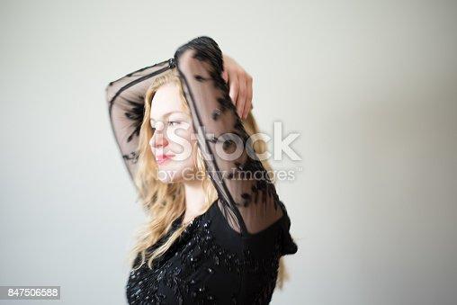 638678178 istock photo Beautiful emotional woman dancing 847506588