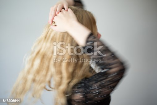 638678178 istock photo Beautiful emotional woman dancing 847506644