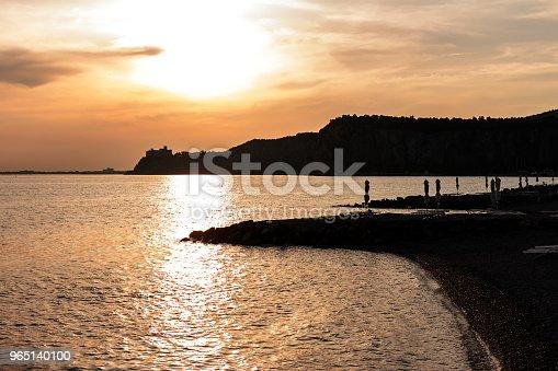 Beautiful Empty Evening Seaside Beach - Stockowe zdjęcia i więcej obrazów Fotografika