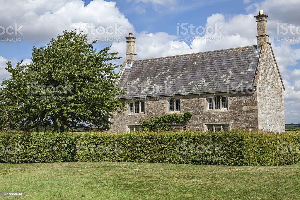 Beautiful English Country House royalty-free stock photo