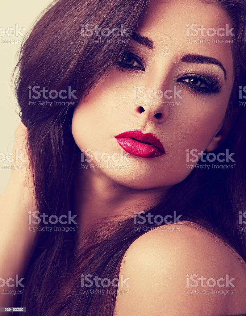 Look Rossetto Donna Rosso Bella Serata Con Sexy C Trucco LqzMpGUjVS
