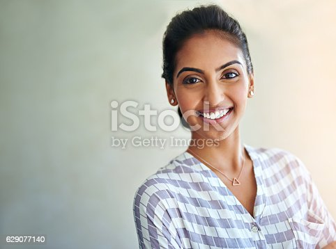 istock Beautiful exactly as she is 629077140