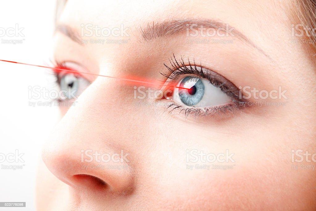Красивые глаз стоковое фото