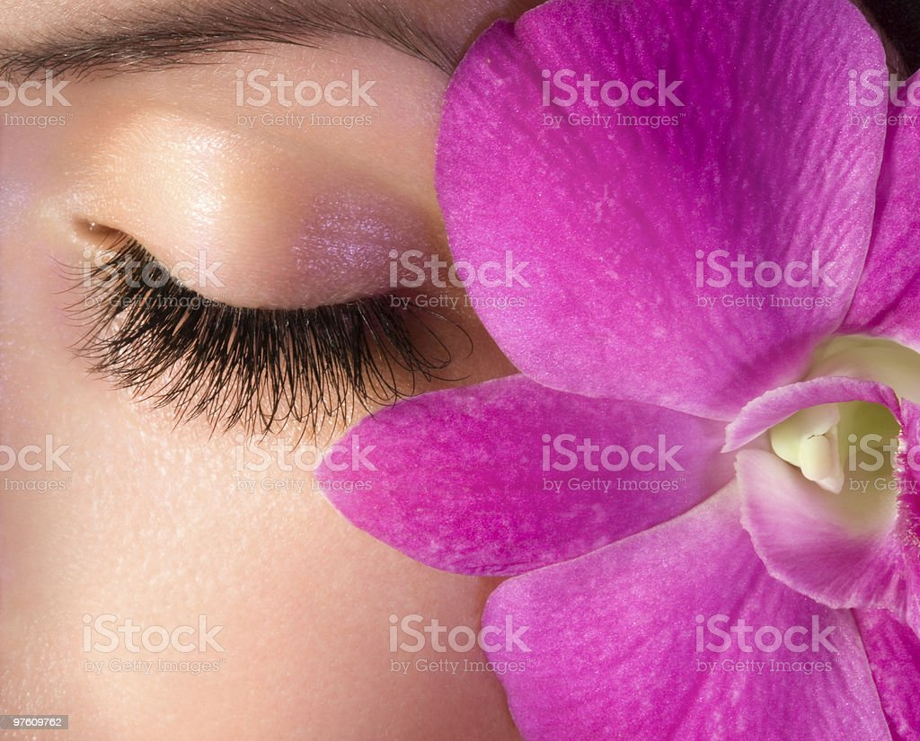 Beautiful eye royalty-free stock photo