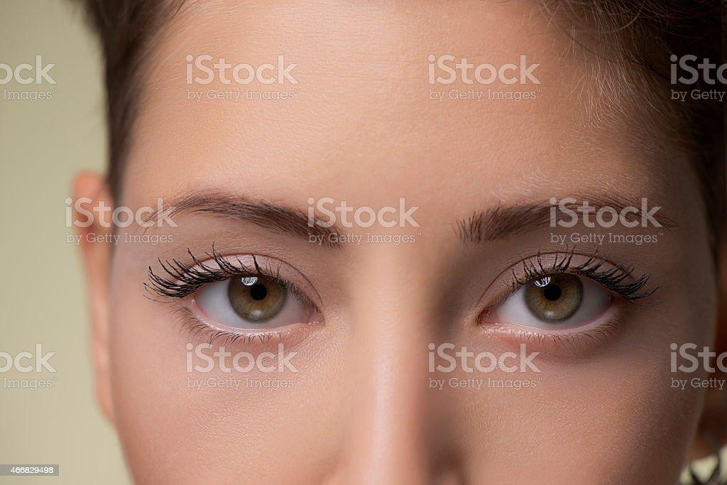 Schöne Augen, Nahaufnahme – Foto