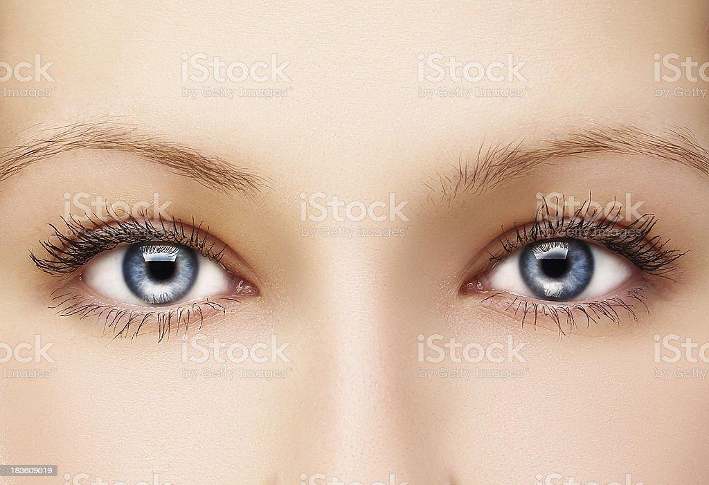 Beautiful Eyes stock photo