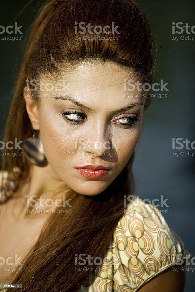 Hermosa rostro foto de stock libre de derechos