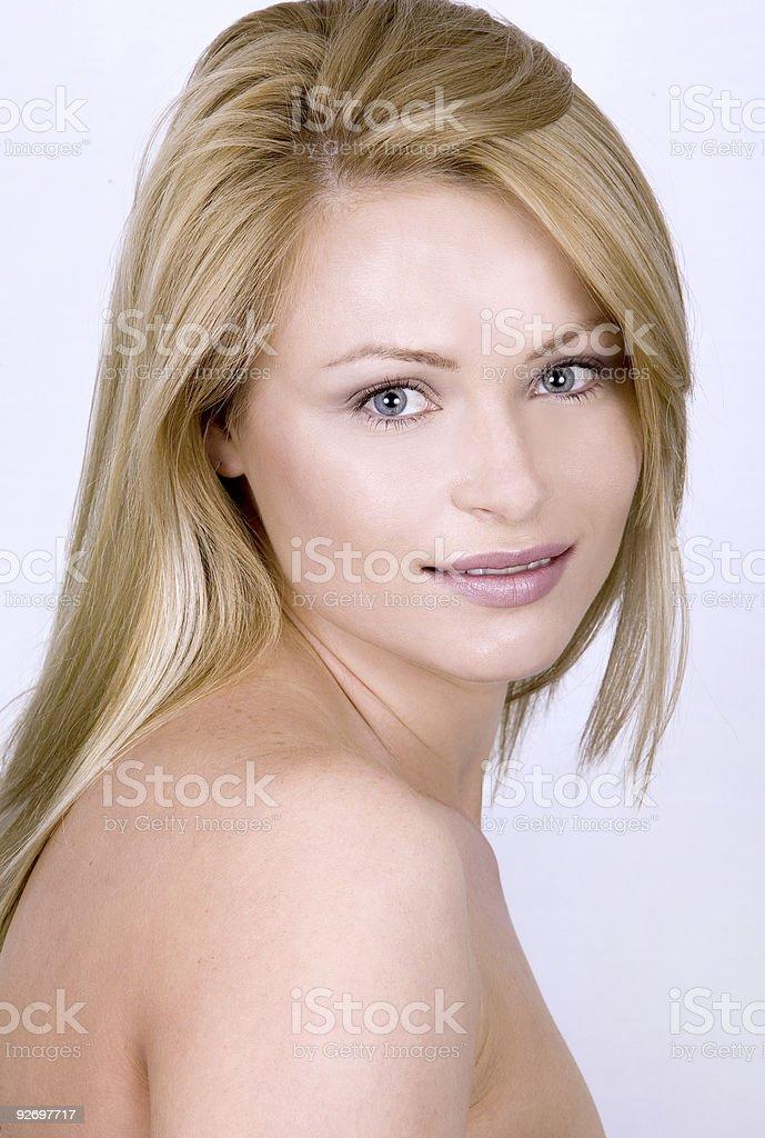 beautiful face royalty-free stock photo
