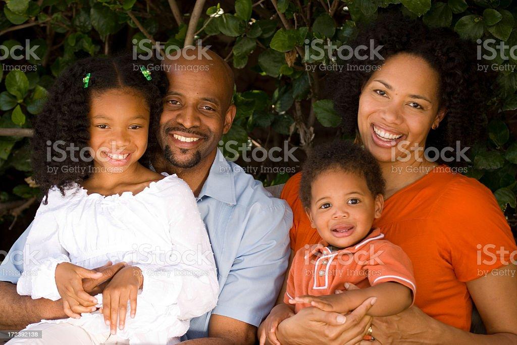Beautiful Family royalty-free stock photo