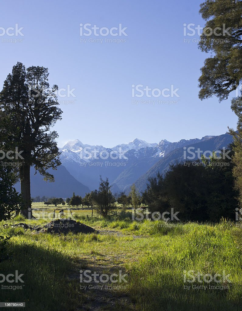 beautiful farm stock photo