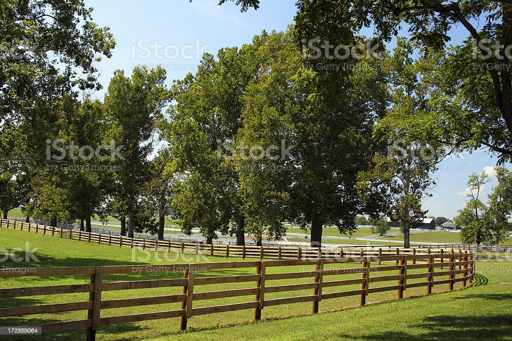Hermoso Farm foto de stock libre de derechos