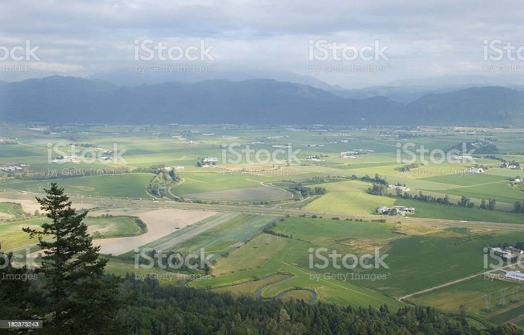 Beautiful Farming stock photo