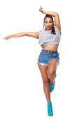 istock Beautiful female dancer 466256025