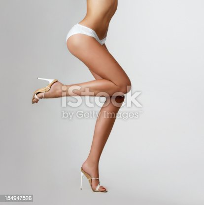 157582133 istock photo Beautiful female legs. 154947526