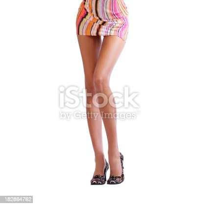 157582133 istock photo Beautiful female legs 182864762