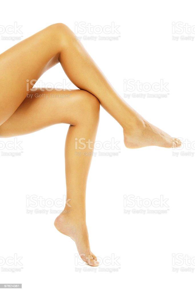 Beautiful Female Legs royalty-free stock photo