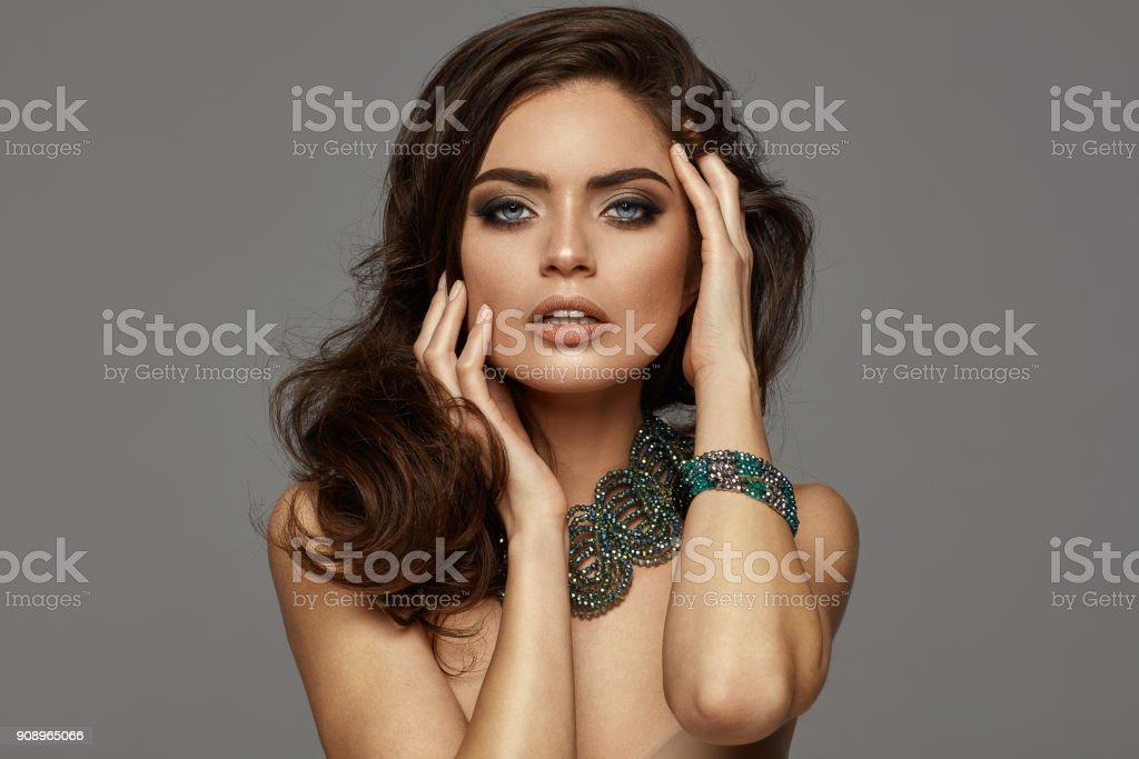 Wunderschöne weibliche model – Foto