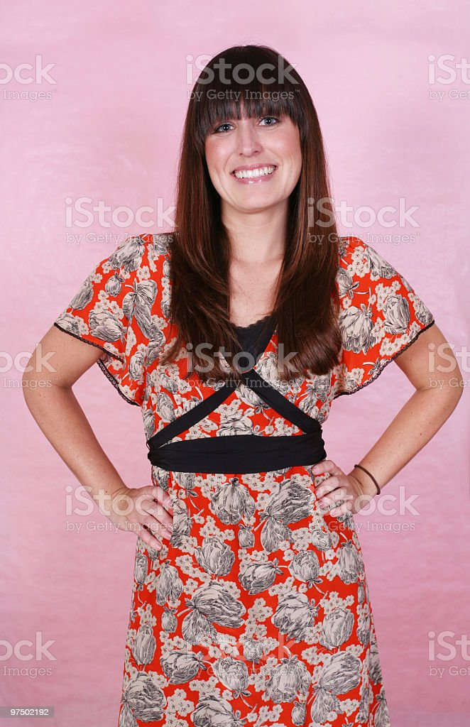 Beautiful female royalty-free stock photo