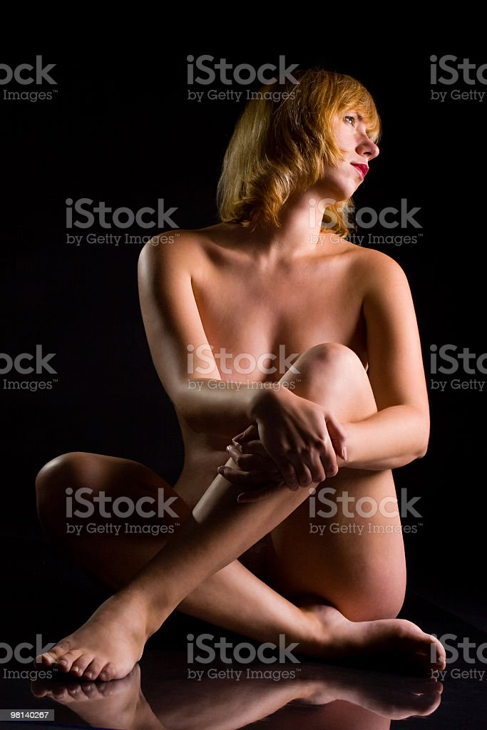 Beautiful female royalty-free stock photo