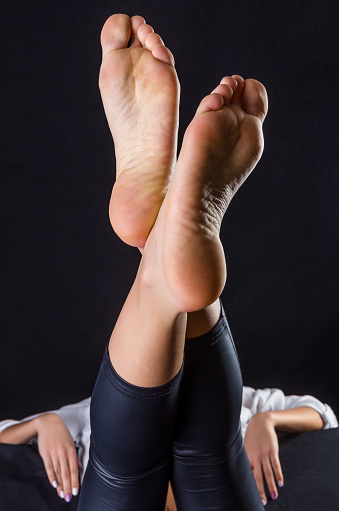 Beautiful Female Soles Stock Photo - Download Image Now ...
