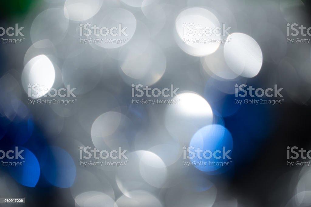 Beautiful festive bokeh as background royalty-free stock photo