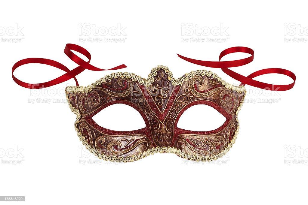 Beautiful festive carnival mask stock photo