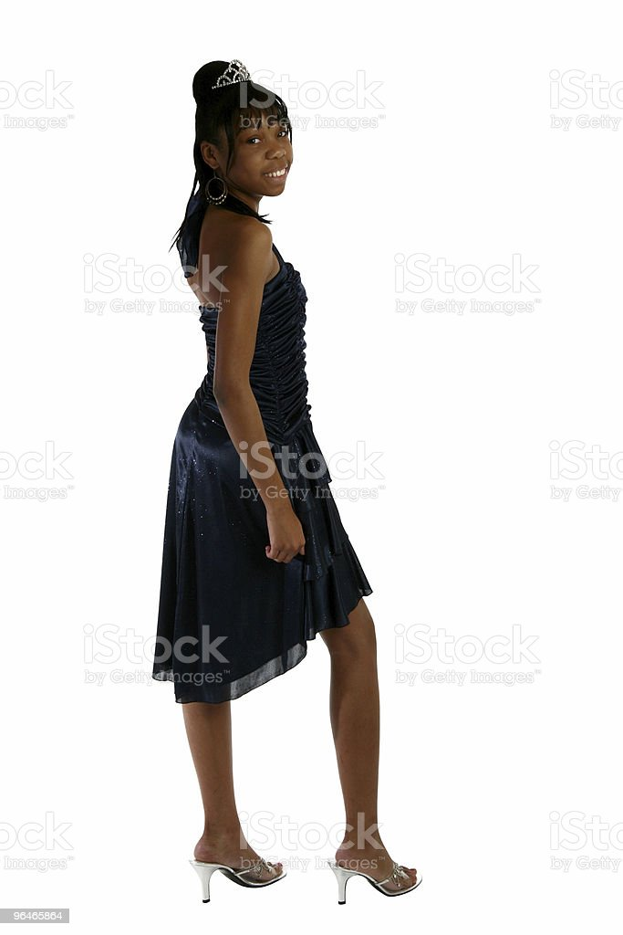 Beautiful Fifteen Year Old Teen in forma royalty-free stock photo