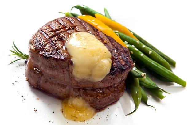 filetsteak - sauce bernaise stock-fotos und bilder