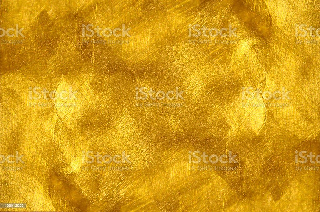 Beautiful fine brushed golden texture stock photo