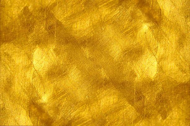 Schöne feine gebürstetem golden Textur – Foto