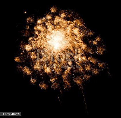 1086534384 istock photo Beautiful Firework in the sky, celebration and new year concept 1178346289
