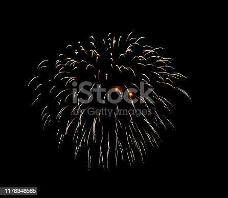 1086534384 istock photo Beautiful Firework in the sky, celebration and new year concept 1178346585